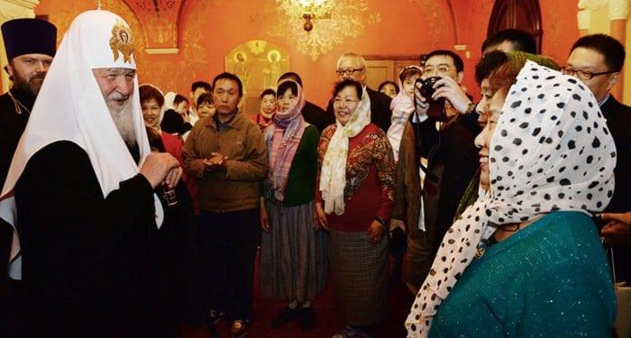 В храмах и монастырях Москвы и области побывали паломники из Китая