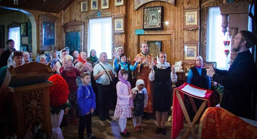 В Северодвинске впервые совершили Литургию с сурдопереводом