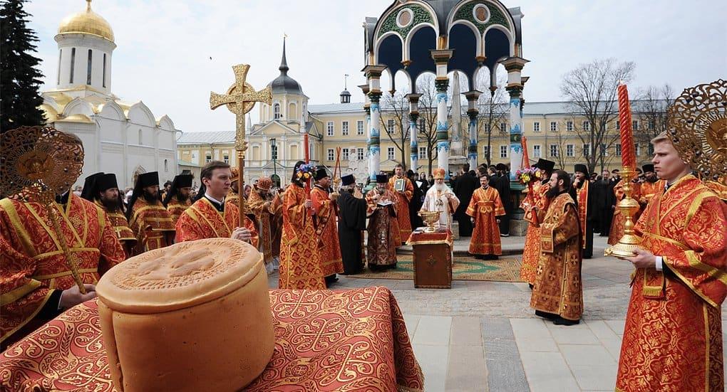 Православные отмечают начало Светлой седмицы