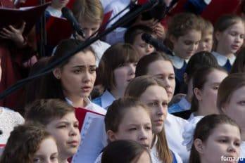 Сводный детский хор, Пушкинская пл., Москва, фото Юлии Маковейчук (100)