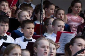 Сводный детский хор, Пушкинская пл., Москва, фото Юлии Маковейчук (102)