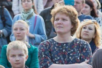 Сводный детский хор, Пушкинская пл., Москва, фото Юлии Маковейчук (108)