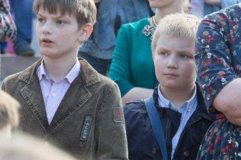 Сводный детский хор, Пушкинская пл., Москва, фото Юлии Маковейчук (109)