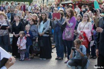 Сводный детский хор, Пушкинская пл., Москва, фото Юлии Маковейчук (110)
