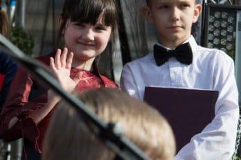 Сводный детский хор, Пушкинская пл., Москва, фото Юлии Маковейчук (12)