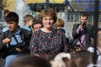 Сводный детский хор, Пушкинская пл., Москва, фото Юлии Маковейчук (14)