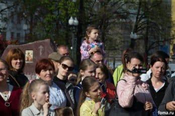 Сводный детский хор, Пушкинская пл., Москва, фото Юлии Маковейчук (15)