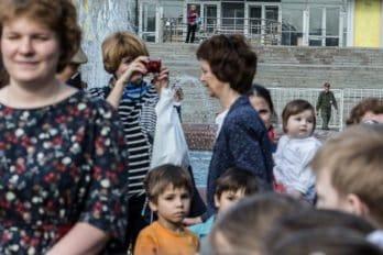 Сводный детский хор, Пушкинская пл., Москва, фото Юлии Маковейчук (19)