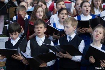 Сводный детский хор, Пушкинская пл., Москва, фото Юлии Маковейчук (65)