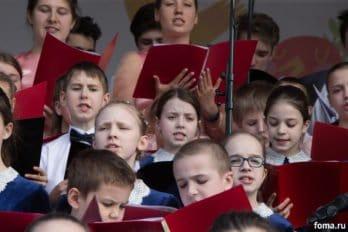 Сводный детский хор, Пушкинская пл., Москва, фото Юлии Маковейчук (67)