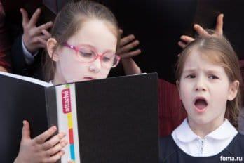 Сводный детский хор, Пушкинская пл., Москва, фото Юлии Маковейчук (70)