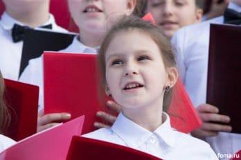 Сводный детский хор, Пушкинская пл., Москва, фото Юлии Маковейчук (72)