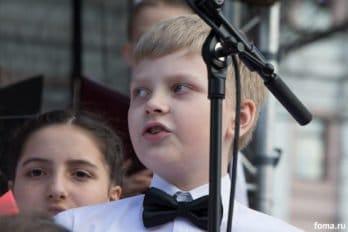 Сводный детский хор, Пушкинская пл., Москва, фото Юлии Маковейчук (74)