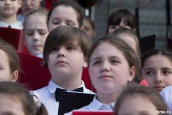 Сводный детский хор, Пушкинская пл., Москва, фото Юлии Маковейчук (75)