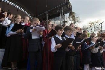 Сводный детский хор, Пушкинская пл., Москва, фото Юлии Маковейчук (83)