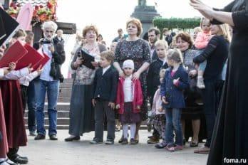 Сводный детский хор, Пушкинская пл., Москва, фото Юлии Маковейчук (84)