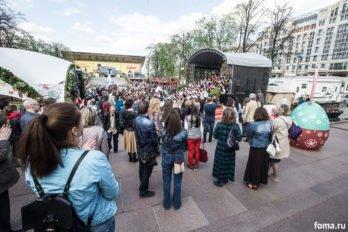 Сводный детский хор, Пушкинская пл., Москва, фото Юлии Маковейчук (87)