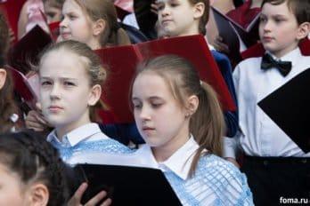 Сводный детский хор, Пушкинская пл., Москва, фото Юлии Маковейчук (91)