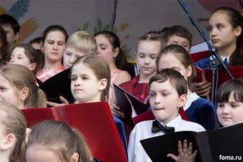 Сводный детский хор, Пушкинская пл., Москва, фото Юлии Маковейчук (92)