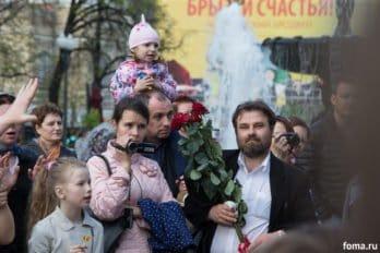 Сводный детский хор, Пушкинская пл., Москва, фото Юлии Маковейчук (96)