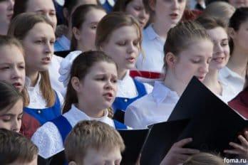 Сводный детский хор, Пушкинская пл., Москва, фото Юлии Маковейчук (99)