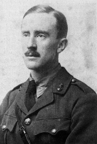 Джон Толкин в 1916 году
