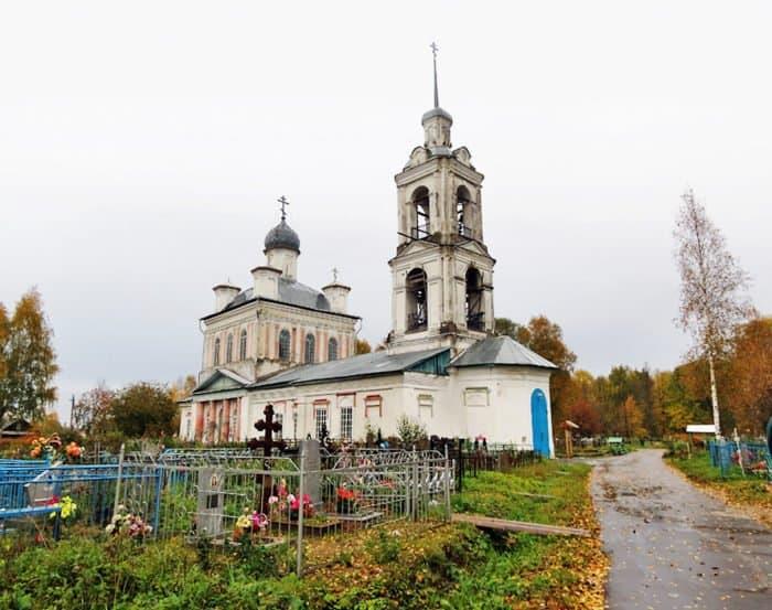 Успенская церковь, г. Пошехонье-Володарск. Фото Ильи Буяновского