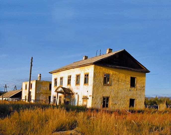 Лагерный пункт Мылга, где скончалась Анна Шашкина