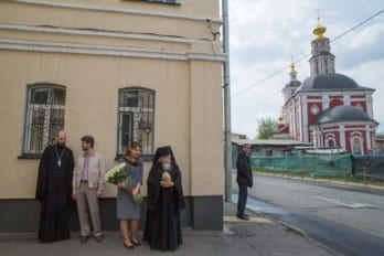 Фото Владимира Ештокина, Посещение Святейшим Патриархом Кириллом «Дома для мамы» в Москве