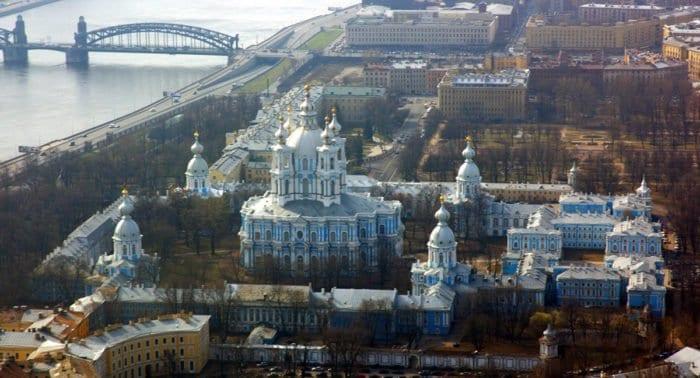Смольный собор, Санкт-Петербург. Фото священника Максима Массалитина