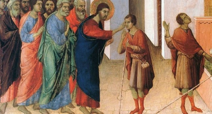 Неделя шестая. О слепом, 1 – 6 июня. Чудо в субботу