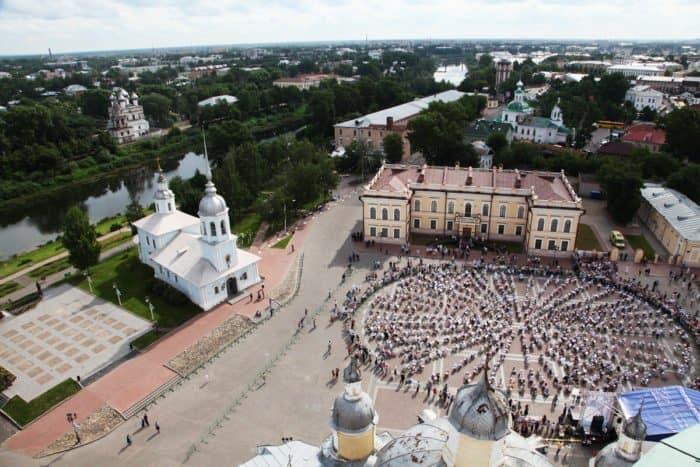 День города в Вологде. Фото Владимира Ештокина