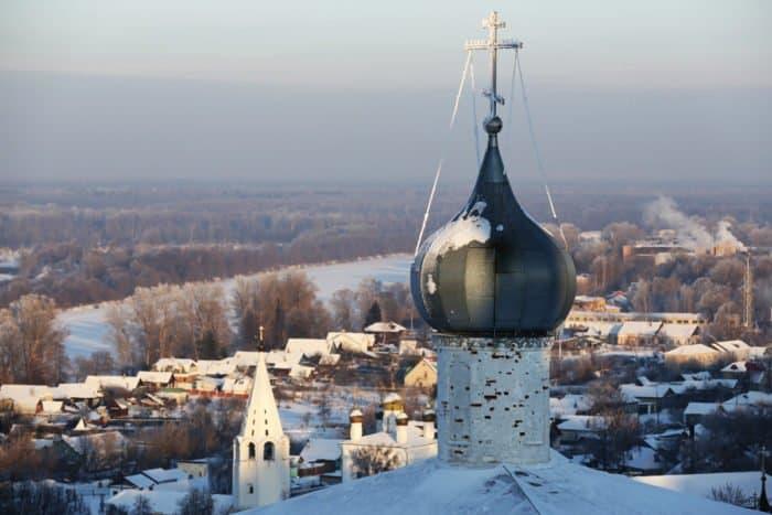 Гороховец зимой. Фото Владимира Ештокина