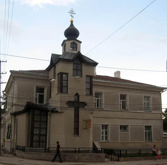Дом Луки (Войно-Ясенецкого) в Симферополе, ныне часовня в его память. Фото Участник:Russianname