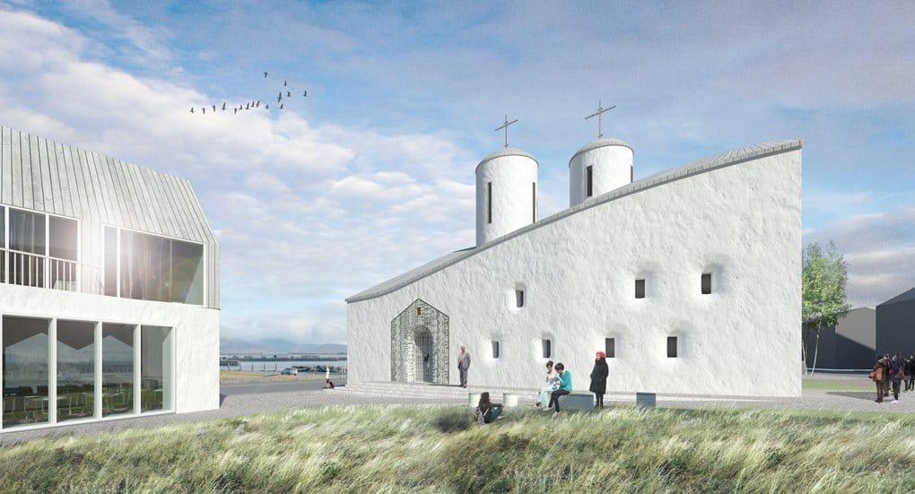Российские дизайнеры предложили Рейкьявику новаторский проект русского храма