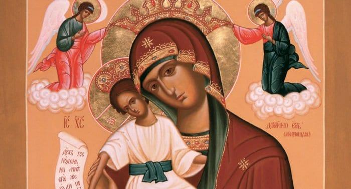 Церковь празднует память иконы Божией Матери «Достойно есть»