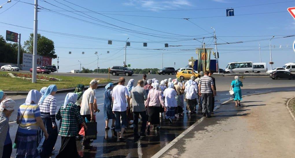 Один из самых протяженных крестных ходов России идет вокруг Уфы