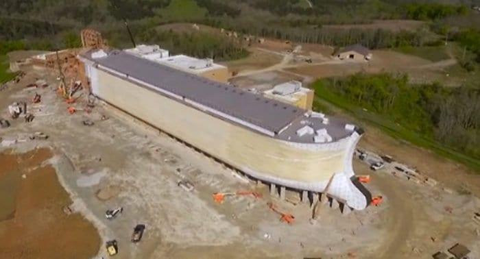 Копия Ноева ковчега станет центром христианского парка в Кентукки