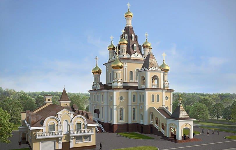 В 2017 году в Москве достроят один из самых крупных православных храмов
