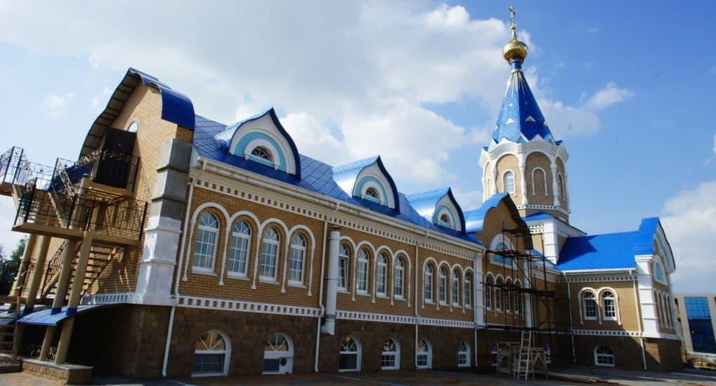 Храм Серафима Саровского в Ижевске