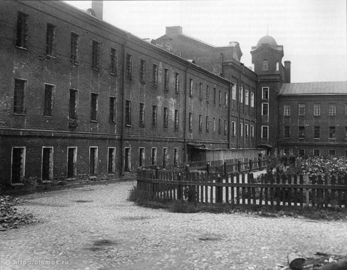 Таганская тюрьма (снесена в 1958 году) Архивное фото