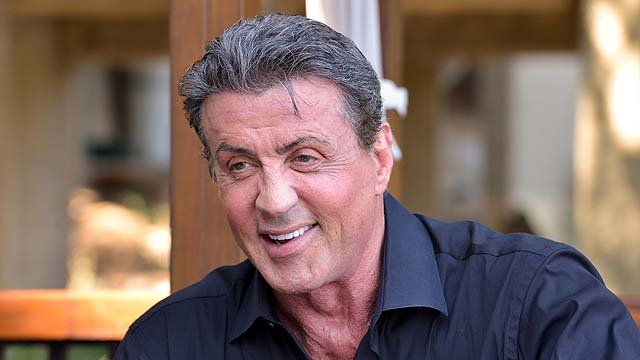 ACAPULCO, MEXICO - JANUARY 25: Sylvester Stallone is interviewed before attending a private dinner to celebrate the 9th Annual Acapulco Film Festival on January 25, 2014 in Acapulco, Mexico. (Photo by Steve Jennings/Getty Images for Leisure Opportunities)