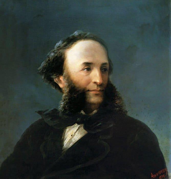 Айвазовский Автопортрет 1874г