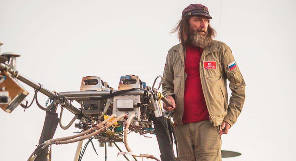 Полет отца Федора Конюхова на воздушном шаре вокруг Земли можно будет увидеть онлайн