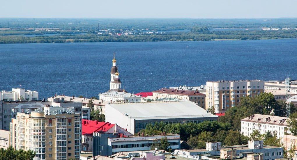 Храмы Архангельска показали с самой высокой точки города
