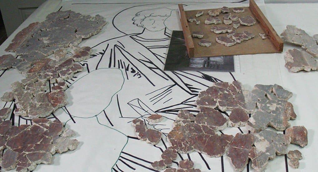 В Новгороде нашли считавшиеся утраченными древние фрески
