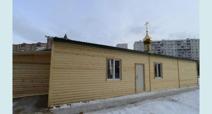 Храм Серафима Саровского в Восточном Дегунино