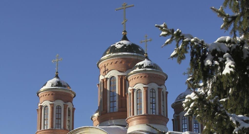 Храм преподобного Серафима Саровского пос. Селятино