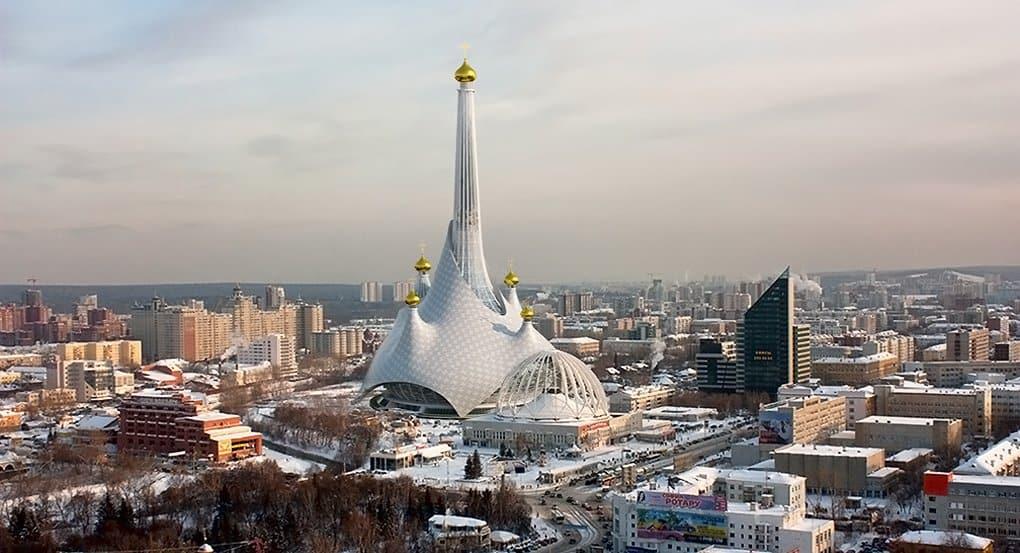 Долгострой Екатеринбурга предложили переделать в самый высокий храм в мире