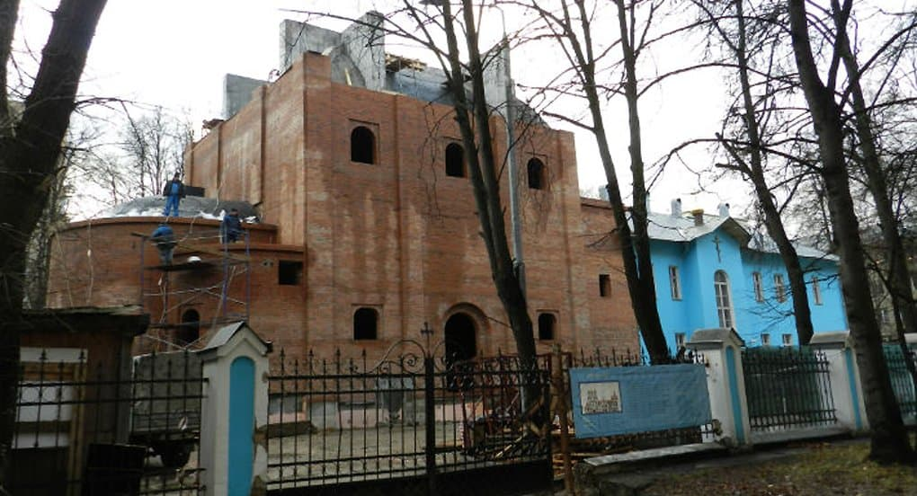 Старый дом в Москве перестраивают в храм